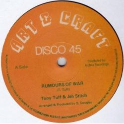 Tony Tuff / Jah Stitch - Rumours Of War - 12""
