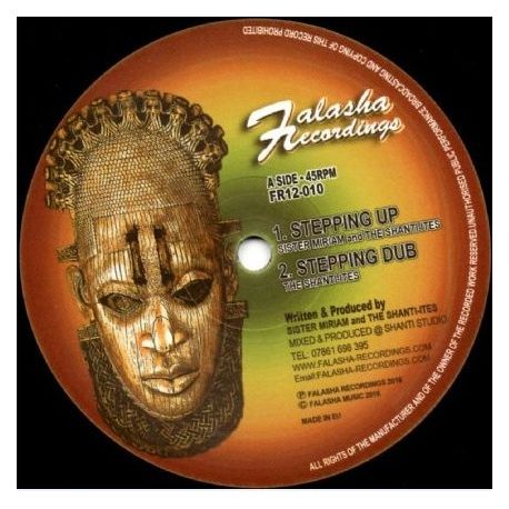 Sister Miriam / The Shanti-Ites -  Majestic / Stepping Up - 12""