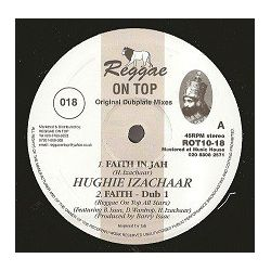 Hughie Izachaar - Faith In Jah - 10""