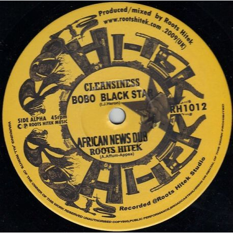 Bobo Black Star / Far East - Cleansiness / Ilody - 10""