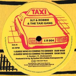 """Black Uhuru - Guess Who Is Coming To Dinner - 12"""""""