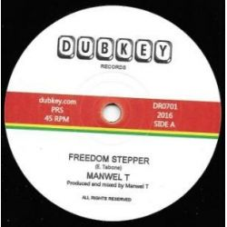 "Manwel T - Freedom Stepper   - 7"" - Dubkey Records"