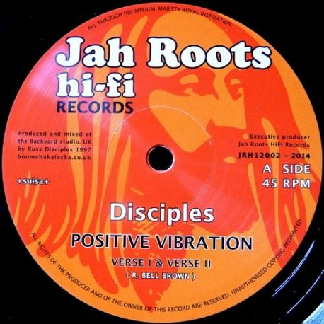 Disciples - Positive Vibration , Humble Lion - 12""