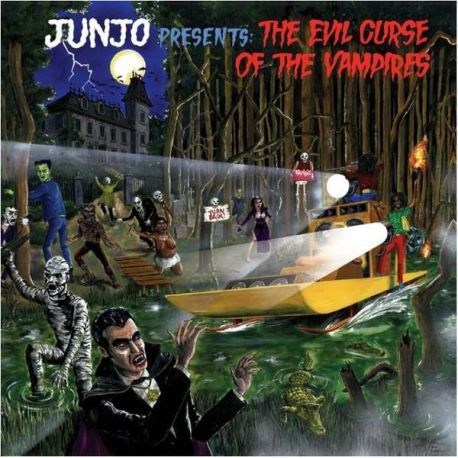 "Henry ""Junjo"" Lawes - The Evil Curse Of The Vampires - LP - Greensleeves Records"