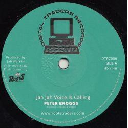 "Peter Broggs / Jah Warrior - Jah Jah Voice Is Calling  - 7"" - Digital Traders Records"