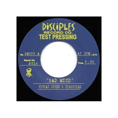 """Vivian Jones / The Disciples  -  Bad Mind  - 7"""" - Disciples Record Co"""