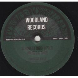 "Conscious Youths - A Forest Bird Never Wants A Cage	 - 7"" - Woodland Records"
