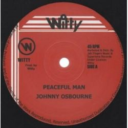 "Johnny Osbourne - Peaceful Man - 12"" - Witty"