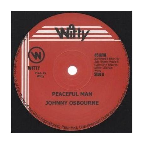 "Johnny Osbourne - Peaceful Man - 12"" - Witty"