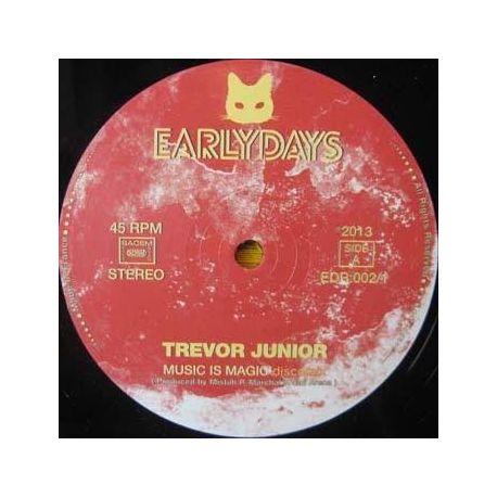 "Trevor Junior - Music Is Magic / Listen To Me - 12"" - Earlydays Records"