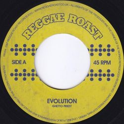 "Ghetto Priest - Evolution - 7"" - Reggae Roast"
