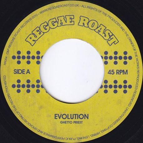"Ghetto Priest - Evolution - 7"" - Reggae Roast"
