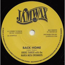 "Andre Tanker / Mansa Musa Drummers - Back Home - 7"" - Jamwax"
