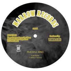"Echo Ranks - Peaceful Mind - 7"" - Marrow Records"