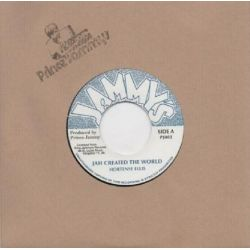 "Hortense Ellis -  Jah Created The World  - 7"" - Jammys Records"