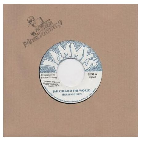 "Hortense Ellis -  Jah Created The World  - 7"" - Jammys Records"