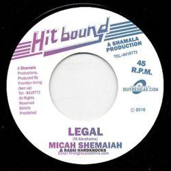 "Micah Shemiah / Rassi Hardknocks - Legal - 7"" - Hit Bound"