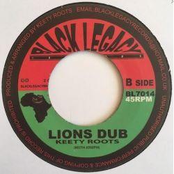 "Prince Alla / Keety Roots -   Daniel - 7"" - Black Legacy"