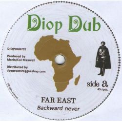 "Far East / Simon Nyabin / Dougie Conscious - Backward Never / Forward Dub - 7"" - Diop Dub"