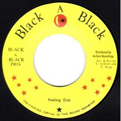 "Errol Scorcher - Feeling Inside - 7"" - Black A Black"