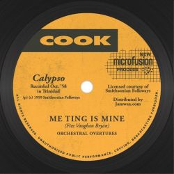 "Orchestral Overtures - Me Ting Is Mine - 7"" - Cook"