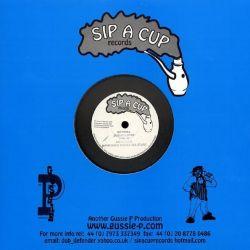 "Earl Sixteen - Jah Jah Love I / Menelik - 10"" - Sip A Cup Records"
