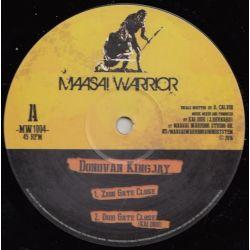 "Donovan King Jay - Zion Gate Close / Repatriation - 10"" - Maasai Warrior"