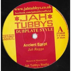 "Jah Ragga / Sandeeno / Conscious Sounds -  Ancient Egypt Part 1 / War Is Not The Answer - 10"" - Jah Tubbys"