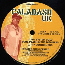 "Dixie Peach / The Disciples  - The System Cold - 12"" - Calabash Records"