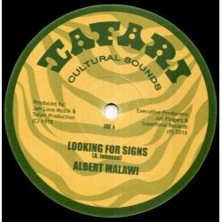 "Albert Malawi / Brigadier Jerry - Looking For Signs / Conscious Time - 12"" - Tafari"