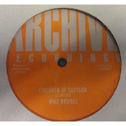 "Mike Brooks - Children Of Babylon - 12"" - Archive Recordings"