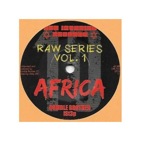 "Humble Brother / Ist3p -  Africa  - 7"" - Dub Invasion Records"