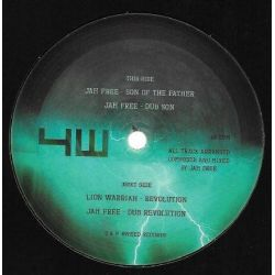 "Jah Free / Lion Warriah - Son Of The Father / Revolution  - 10"" - 4Weed Records"
