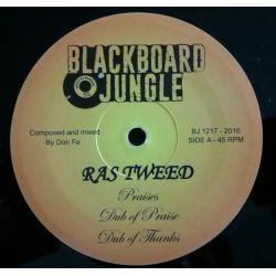"Ras Tweed / Jacko  - Praises / Farmer Song - 12"" - Blackboard Jungle"