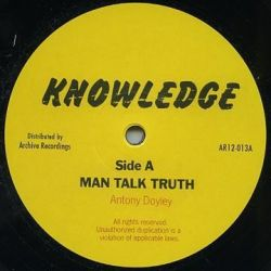 "Knowledge  - Man Talk Truth / Let Us All - 12"" - Not On Label"