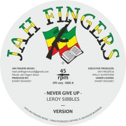 "Leroy Sibbles / Yami Bolo - Never Give Up / Mr Big And In Crime - 12"" - Jah Fingers Music"