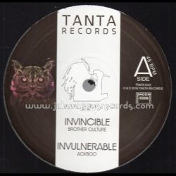 "Ackboo / Brother Culture / Marcus Gad - Invincible / Ina Sky - 12"" - Tanta Records"