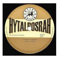 "Joseph Lalibela / King Stanley - Freedom Fighters / Israel - 12"" - Hytal Bosrah Records"
