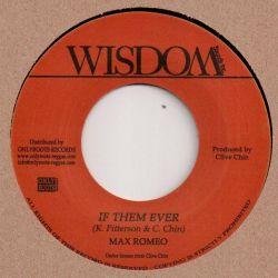 "Max Romeo - If Them Ever - 7"" - Wisdom"