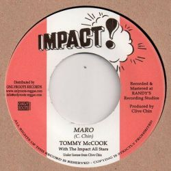 "Tommy McCook - Maro / Jaro - 7"" - Impact"