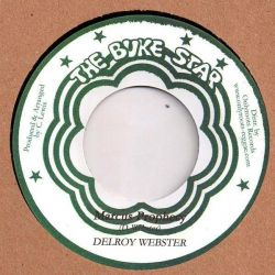 "Delroy Webster - Marcus Prophecy - 7"" - Buke Star"