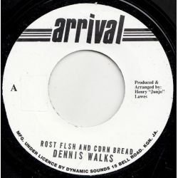 "Dennis Walks - Roast Fish And Corn Bread - 7"" - Arrival"