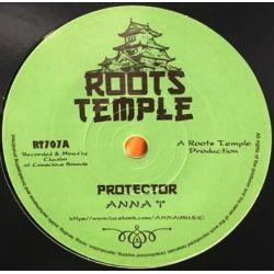 "Anna ""i"" / Chazbo - Protector - 7"" - Roots Temple"