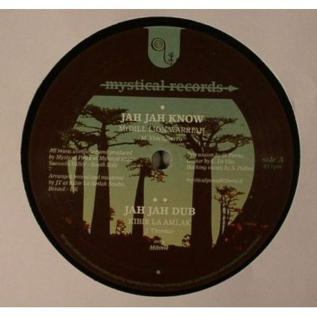 Mr Dill Lion Warriah , Mulu And I Jah Salomon - Jah Jah Know , Trust The Dream Discomix - 12""