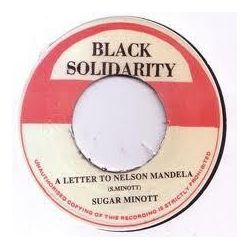 "Sugar Minott - A Letter To Nelson Mandela - 7"" - Black Solidarity"