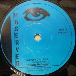 "Freddie McGregor - Jah Can Count On I - 7"" - Observer"