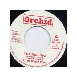 "Debra Keese / The Black Five / The Upsetters - Travelling / Nymbia Dub - 7"" - Orchid"