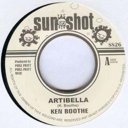 """Ken Boothe - Artibella - 7"""" - Sunshot"""