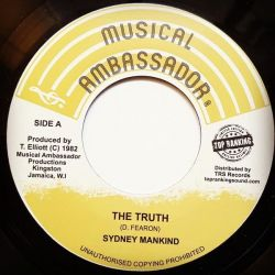 "Sydney Mankind - The Truth - 7"" - Musical Ambassador"