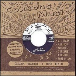 "Don Drummond - Last Call - 7"" - Studio One"